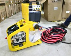 300-400 A Inverter Bases MIG 400 Co Mag Wire Feeder Welding Machine, 380 V, Air