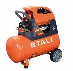 1 hp - 2 hp - 5 hp AC Single Phase Btali Portable Air Compressor, 8 L -50 L