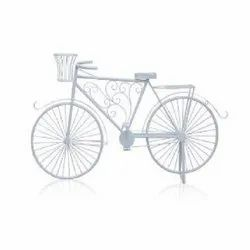 White Decorative Cycle