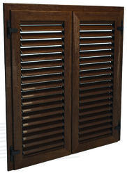 Louvered Exterior Shutters Manufacturers, Suppliers & Wholesalers