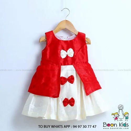 2dc42abb8 Boon Kids Cotton A Line Butterfly Frock