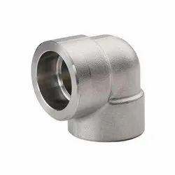 Mild Steel 90 Degree Forged Elbow, For Pipe Fitting, 2 - 5 Inch