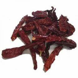Stemless Kashmiri Dry Red Chilli