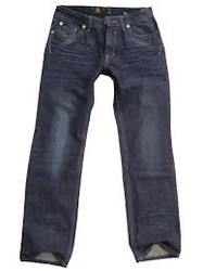 Men Black (Wash) Denim Jeans