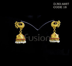 Traditional Antique Jhumka Earrings