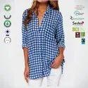 Eco Cotton Ladies Sleeve Tops