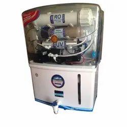 Aqua Grand White Domestic RO UV Water Purifier, Capacity: 13 Litre