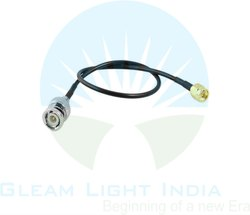 RF Cable Assemblies BNC Male to SMA Male in RG 174
