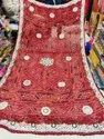 Printed And Embroidered Chunri For Ladies