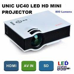 UNIC UC40 Portable Digital LED HD Mini Projector