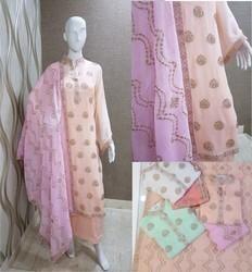 Designer Dupatta Suit