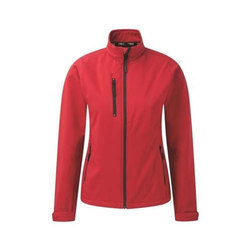 Black And Grey Small And Large Ladies Tern Softshell Jacket