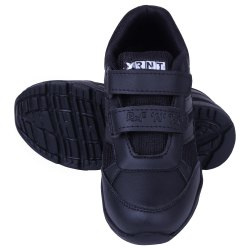 RNT Daily wear Sports Gola Black School Shoes, Size: Small 8 To Big 10