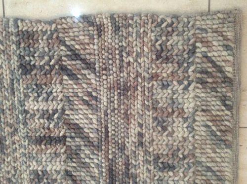 Flat Weave Multi Wool Jute Handmade Rug