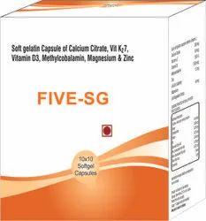 Calcium Citrate Vit K2 7 Vitamin D3 Methylcobalamin Magnesium & Zinc