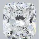 5.01 Ct Gia Certified Cushion Cut Natural Diamond D VS1 EX EX M