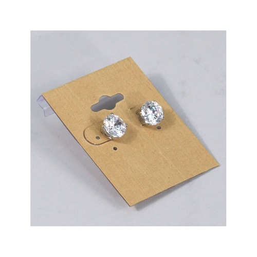 card tags new earring hang product cards earrings jewelry necklace fashion high quality style brown packaging display store kraft paper