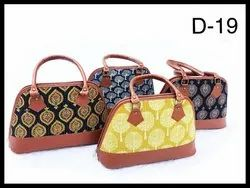 Mix Cotton Ikat Handbags, For Office