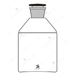 Borosilicate Glass Reagent Bottles