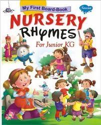 Nursery Rhymes For Junior KG Book