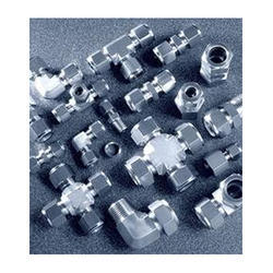 Randhir SS Double Ferrule Fitting, Size: 1 inch, for Gas Pipe