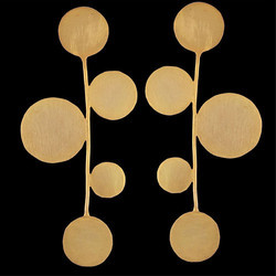 Gold Plated New Design Fashion Geometric Wedding Women Earrings