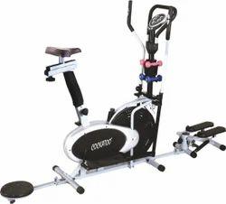 Presto Orbitrek Cross Trainer Exercise Bike with Twister & Stepper
