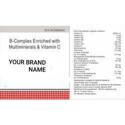 B Complex Enriched with Multiminerals & Vitamin C Capsule