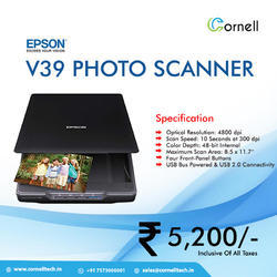 Epson Perfection V600 Flatbed Photo Scanner | ID: 17787904312