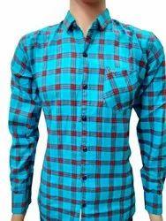 Royal Full Sleeves Men's Cotton Check Shirt