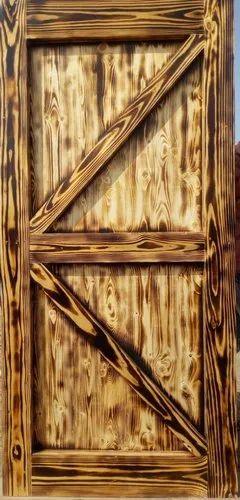 Pine Wood Reclaimed Door