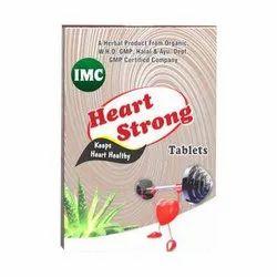 Heart Strong Tablet, Packaging Type: Box, Grade Standard: Medicine Grade