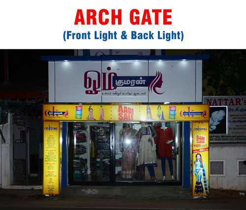 Sign Boards Back Light Gate Arch Wholesaler From Hyderabad