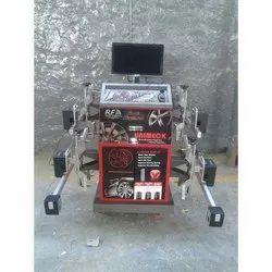 Semi-Automatic Wheel Alignment RF CCD