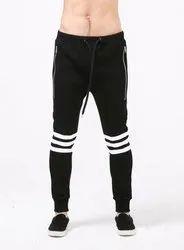 Black Sports Wear 4 Way Lycra Lowers