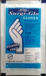 White Powder Free Surgical Gloves(Sterile), Size: 6-8 Inches