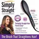 2 In 1 Straight Ceramic Womens Hair Straightener Brush