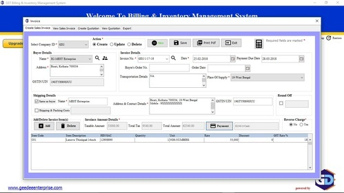 Gst Billing And Inventory Management Software