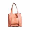 Elysian Exports Tan Leather Tan Handbag