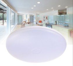 iLux Polycarbonate UFO Home Light - Surface Mounted LED Light (Round), 220-240v