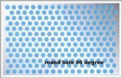 METAL PERFORATED SHEETS ROUND HOLE