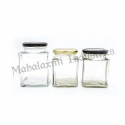 ITC Square Glass Jar Family