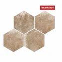 Somany T30303873 10 mm Delizia Almond Floor Tile