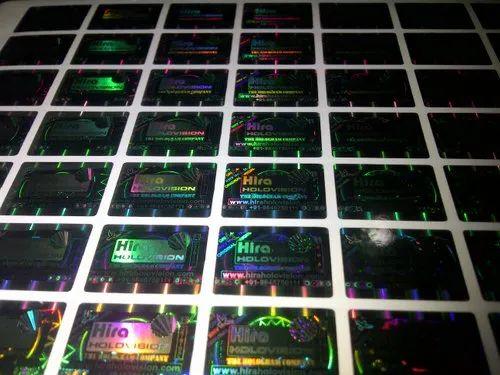 Hologram Peel Off Label