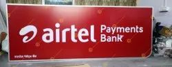 Airtel Payment Bank ACP Board Aluminum Channel, Grade: HB-I
