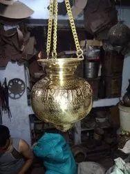 Polished Brass Pooja Kalash, Packaging Type: Box, Size: 8 Inch