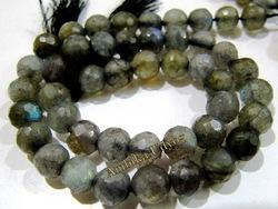 Faceted Labradorite Gemstone Beads