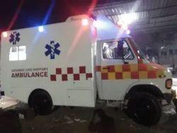Four Wheel Drive Ambulance