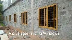 Steel sliding doors &windows