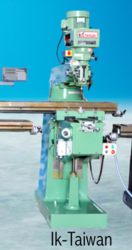 IK Taiwan Vertical Turret Milling Machine